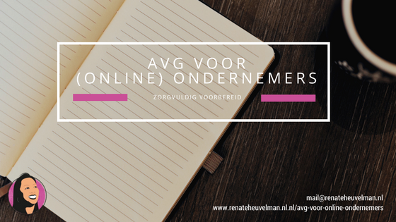 AVG voor online ondernemers